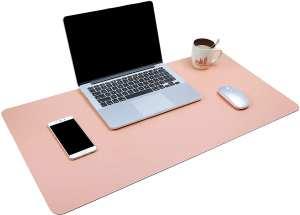 rose gold desk pad for office