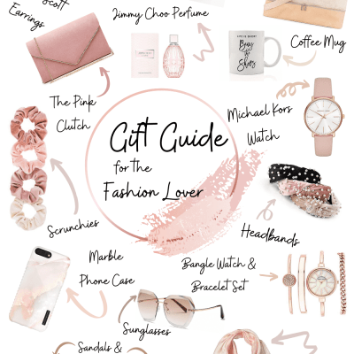 GIFT GUIDE: FOR THE FASHION LOVER
