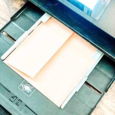 DIY Wedding Pocket Invitations - Step 8, Printing