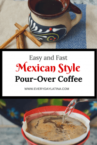 Pin for Mexican Style Coffee #pourovercoffee #mexicanstylecoffee