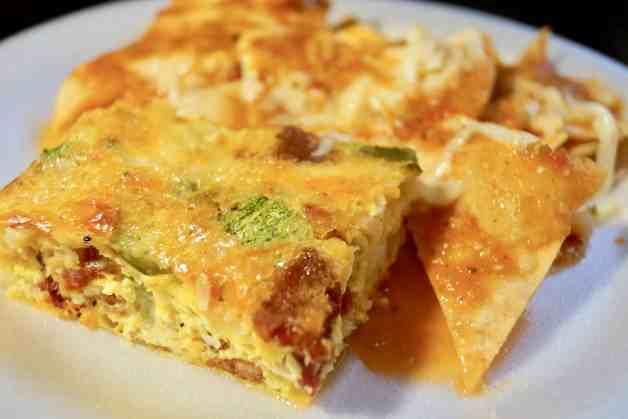 Jalapeño Bacon Breakfast Casserole