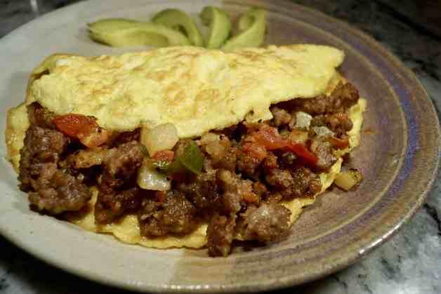 Spicy Ground Pork Omelet #groundporkomelet