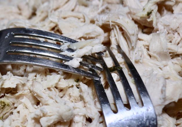 Instant Pot Cilantro Shredded Chicken #instantpotshreddedchicken #shreddedchicken