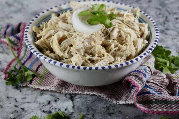 Instant Pot Cilantro Shredded Chicken #instantpotshreddedchicken #shreddedchicken