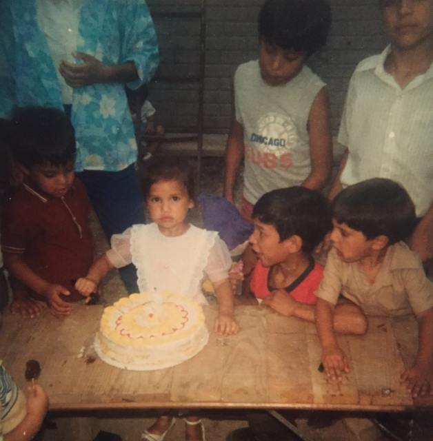 My birthday party in Chihuahua
