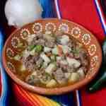 Ground beef stew with jalapeño #groundbeefstew #mexicanfood #groundbeefandjalapeño