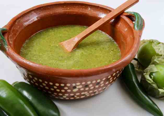 Easy Tomatillo Salsa Verde for Tacos