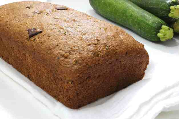 Whole Wheat Maple Zucchini Bread