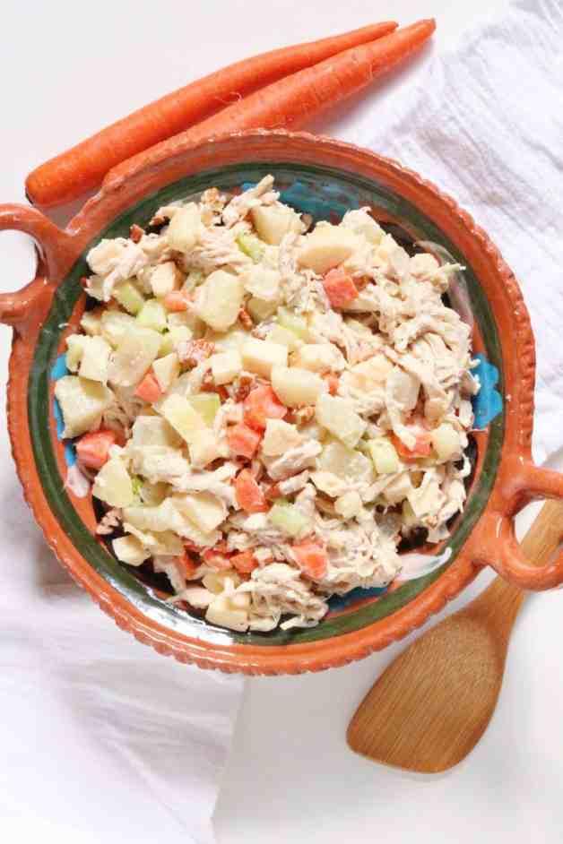 Rich and Creamy Ensalada de Pollo (Chicken Salad)