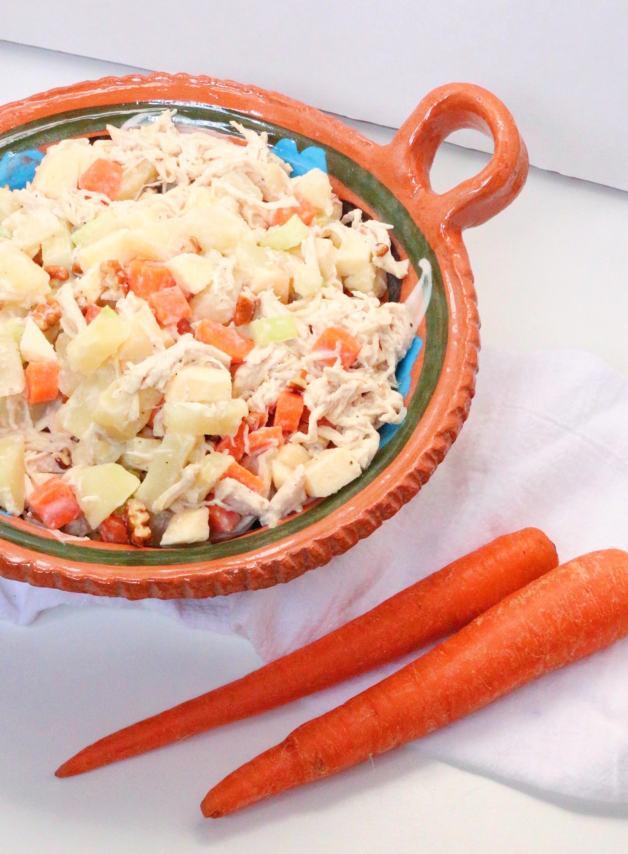 Ensalada de Pollo #chickensalad #ensaladadepollo #whole30recipes