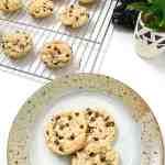 Gluten-Free Almond Joy Cookies #glutenfreealmondjoycookies #glutenfreechocolatechipcookies