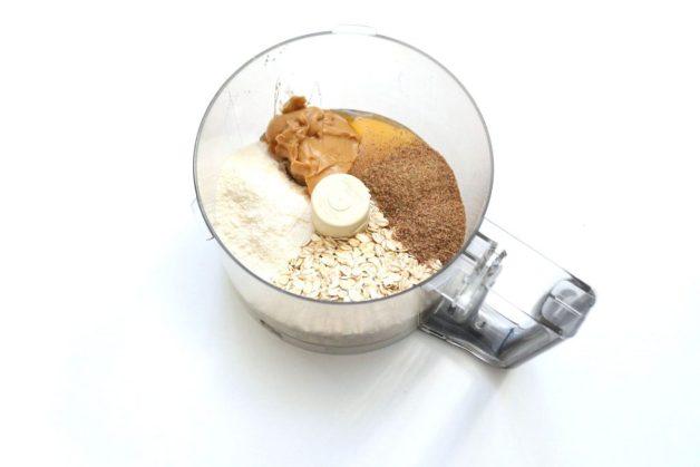 Ingredients for coconut cinnamon gluten-free snacks #coconutcinnamonbites #healthykidfoods #glutenfreesnacks
