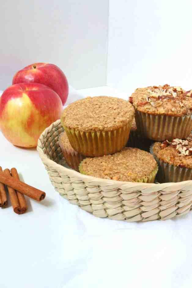 Gluten-Free Apple Oat Muffins