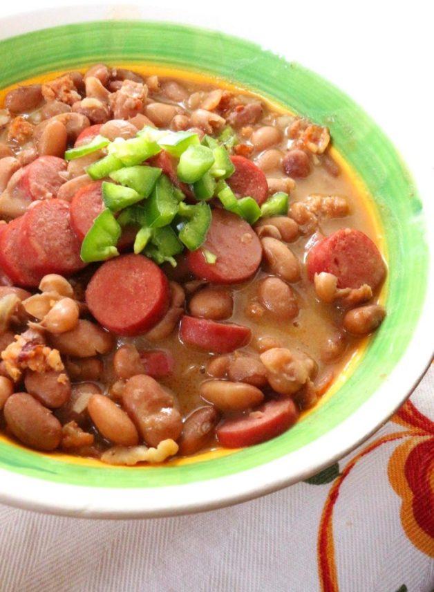Frijoles Charros (Charro Beans) #mexicanbeans #frijolescharros #charrobeans