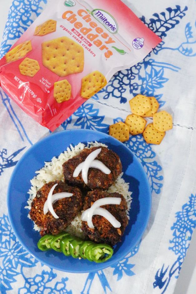 Pin Cheesy Cheddar Ground Beef Milanesas