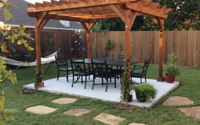 HOW WE SAVED MONEY BUILDING OUR OWN PERGOLA