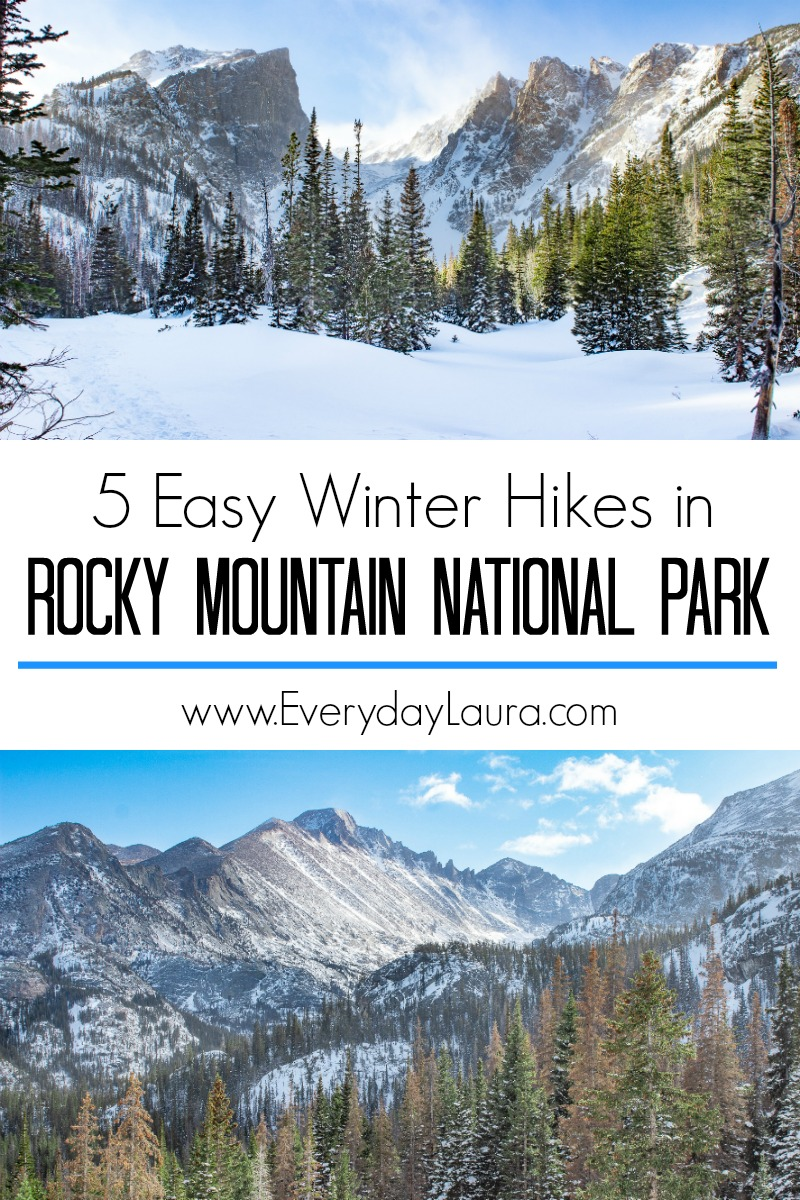 5 easy winter hikes in Rocky Mountain National Park
