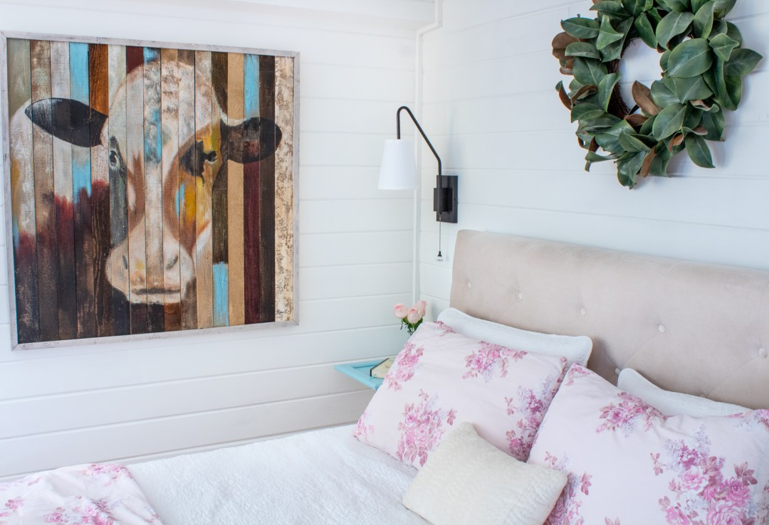 country cottage bedroom makeover