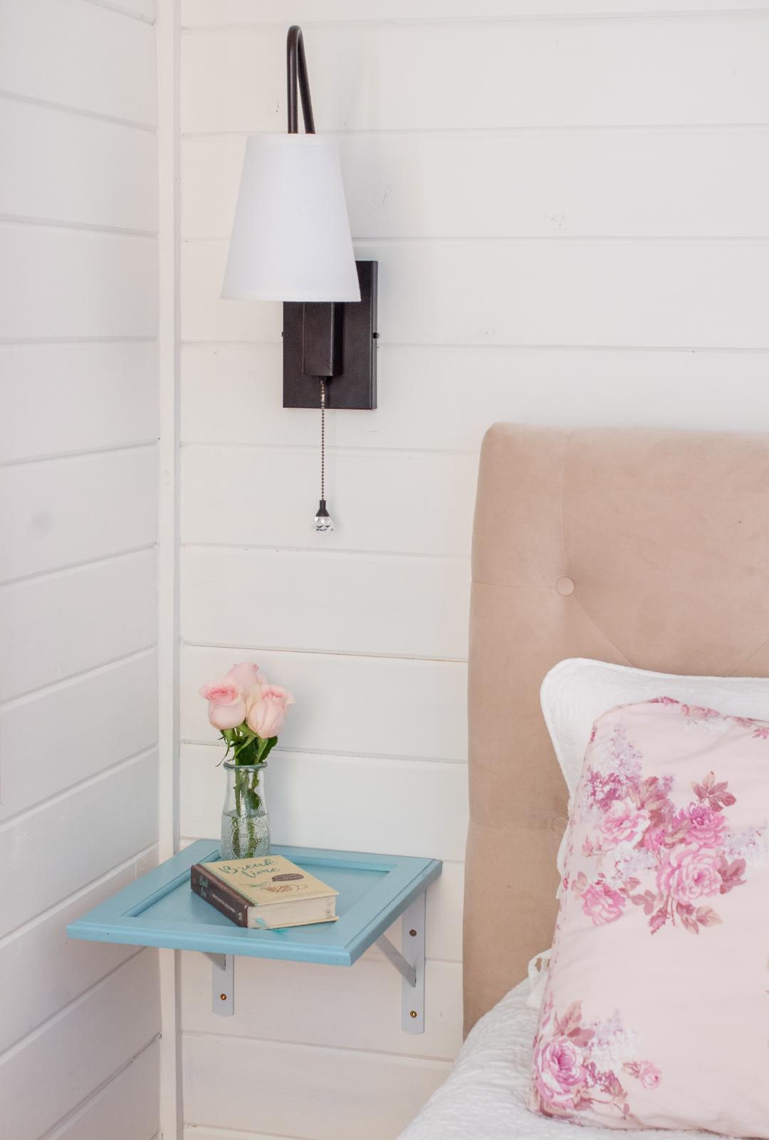 DIY floating nightstand ideas