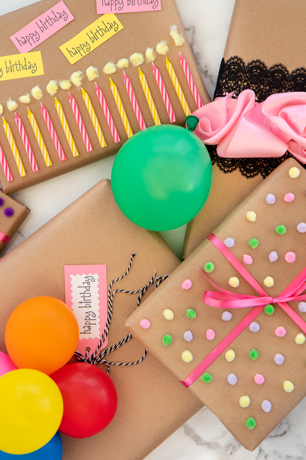 Budget Gift Wrap Ideas