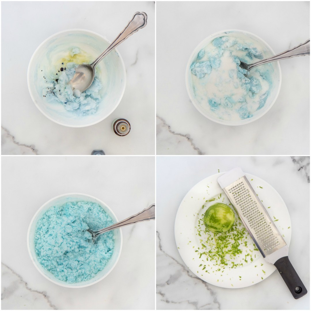 Coconut lime body scrub recipe