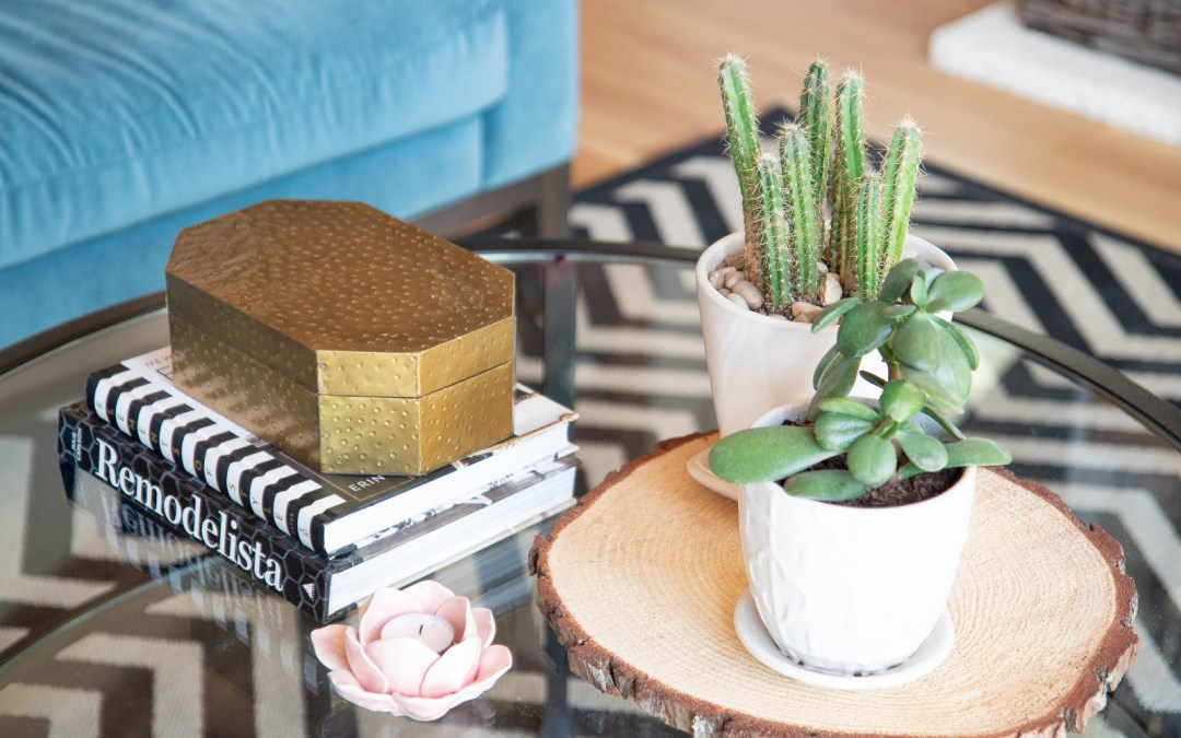 ADD JOY AT HOME BY CREATING SMALL SPACES