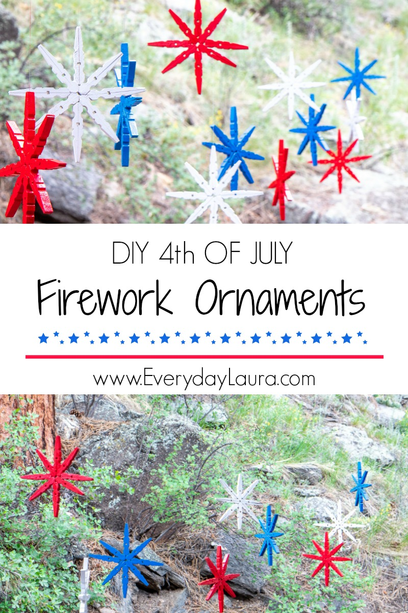 Budget DIY 4th of July Decorations