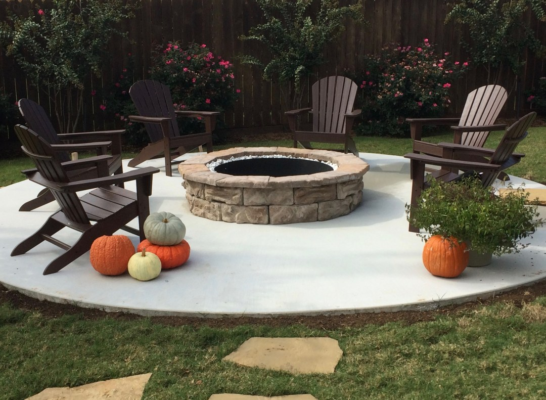build your own fire pit