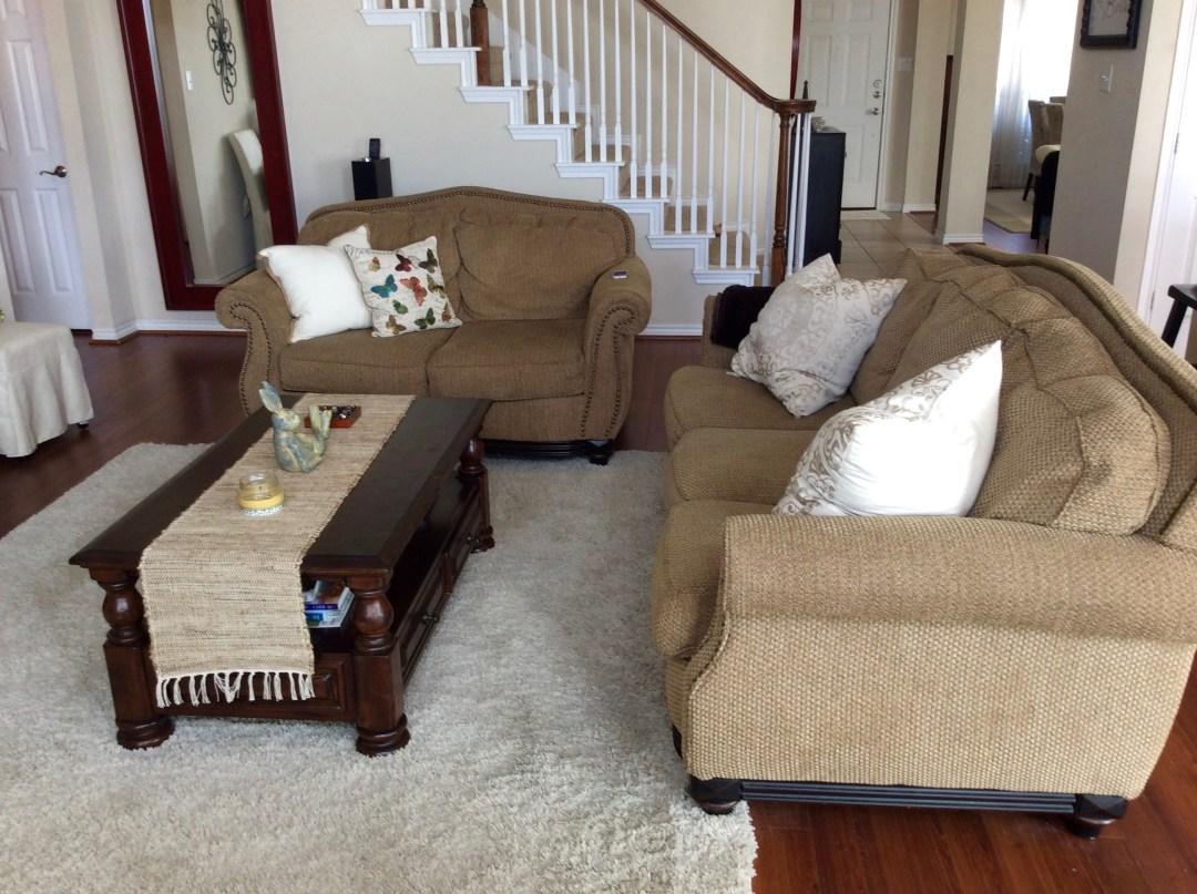 ugly living room makeover