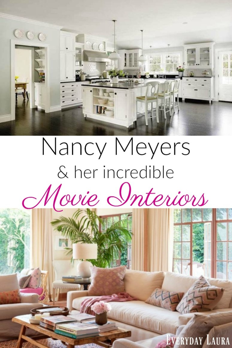 Nancy Meyers movie interiors