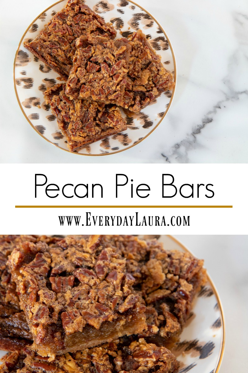 Next time you want want pecan pie try these pecan pie bars instead!
