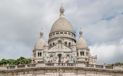 VISITING THE SACRE COEUR IN PARIS