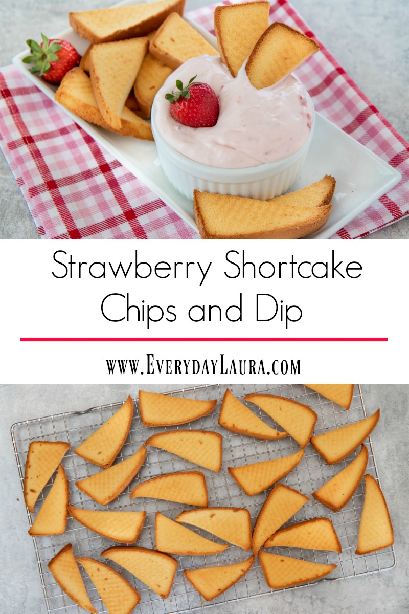 Looking for a new twist on strawberry shortcake? Try this fun strawberry chips and dip dessert recipe made with delicious poundcake chips.