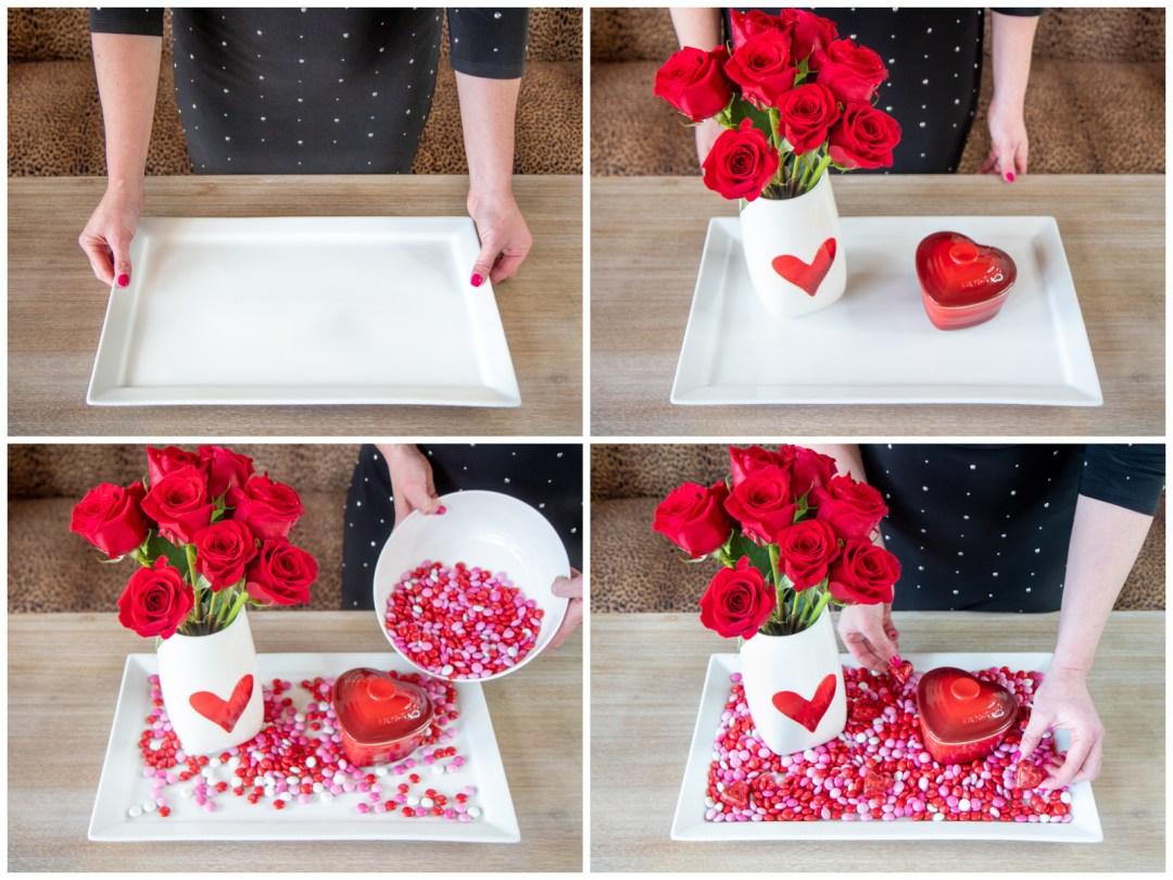 Easy Valentines Day Centerpiece