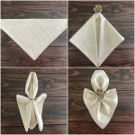 Simple Ways To Fold Napkins Everyday Laura