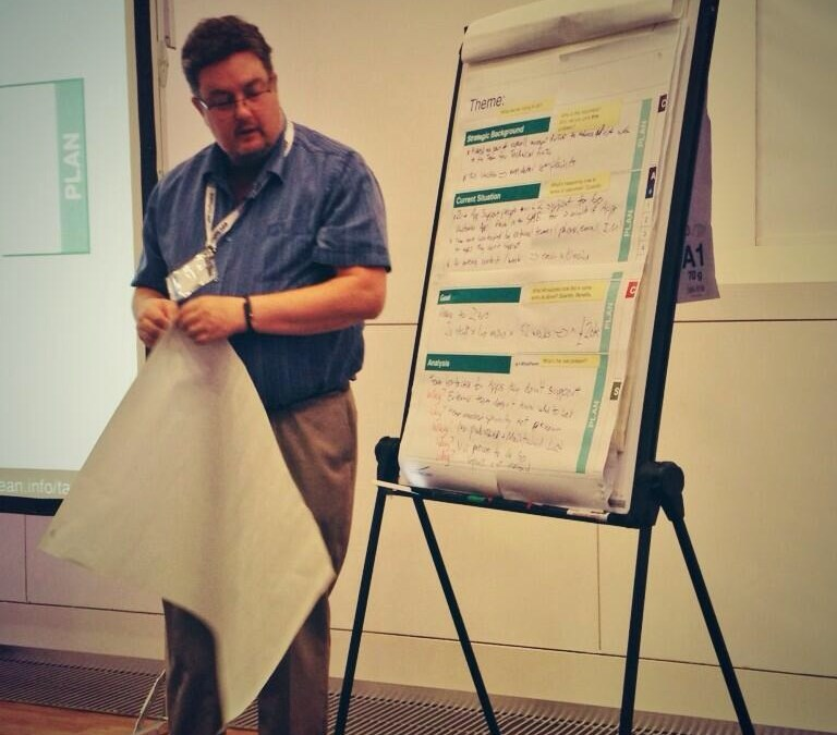 Dive Into A3: A Talk & Interactive Workshop at Lean Agile Scotland, 19/20 September 2013