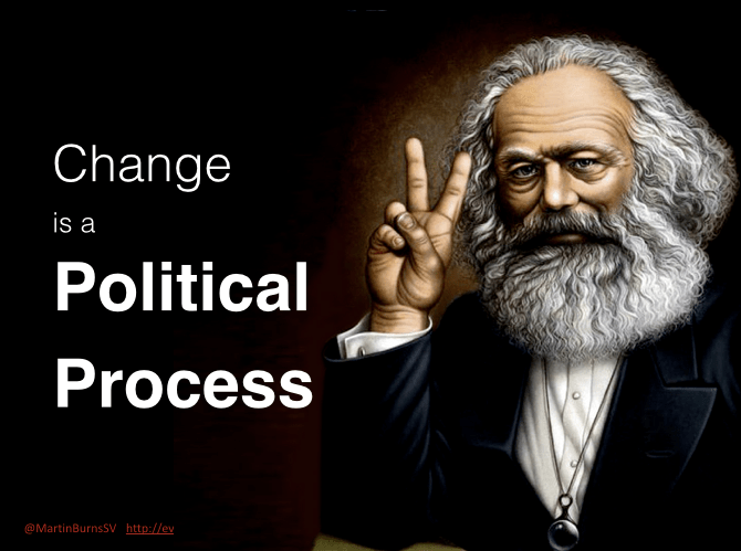 Change is a Political Process