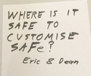 Where Is It Safe to Customise SAFe? Eric and Dean