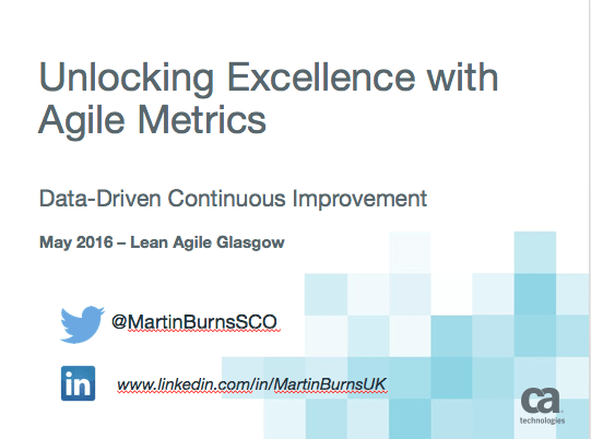 Unlocking Excellence with Agile Metrics