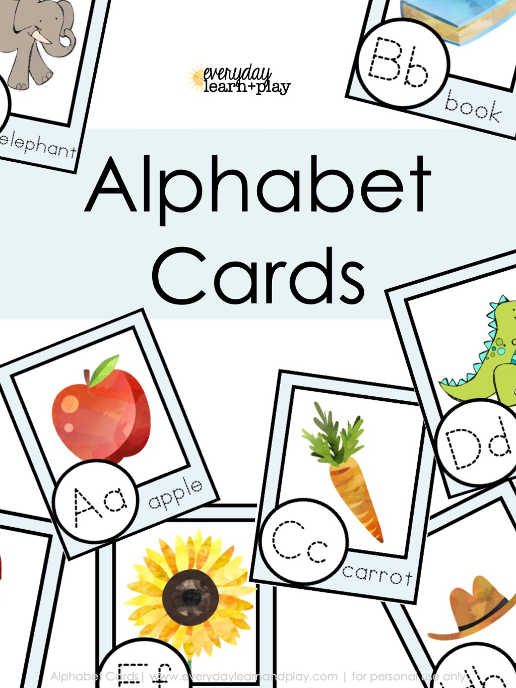 Alphaabet Card Cover