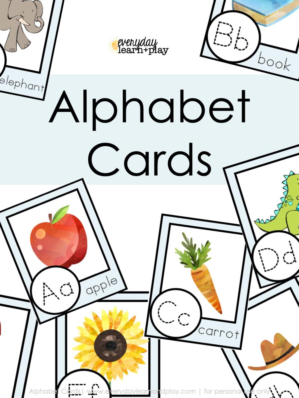 Alphaabet Card Cover