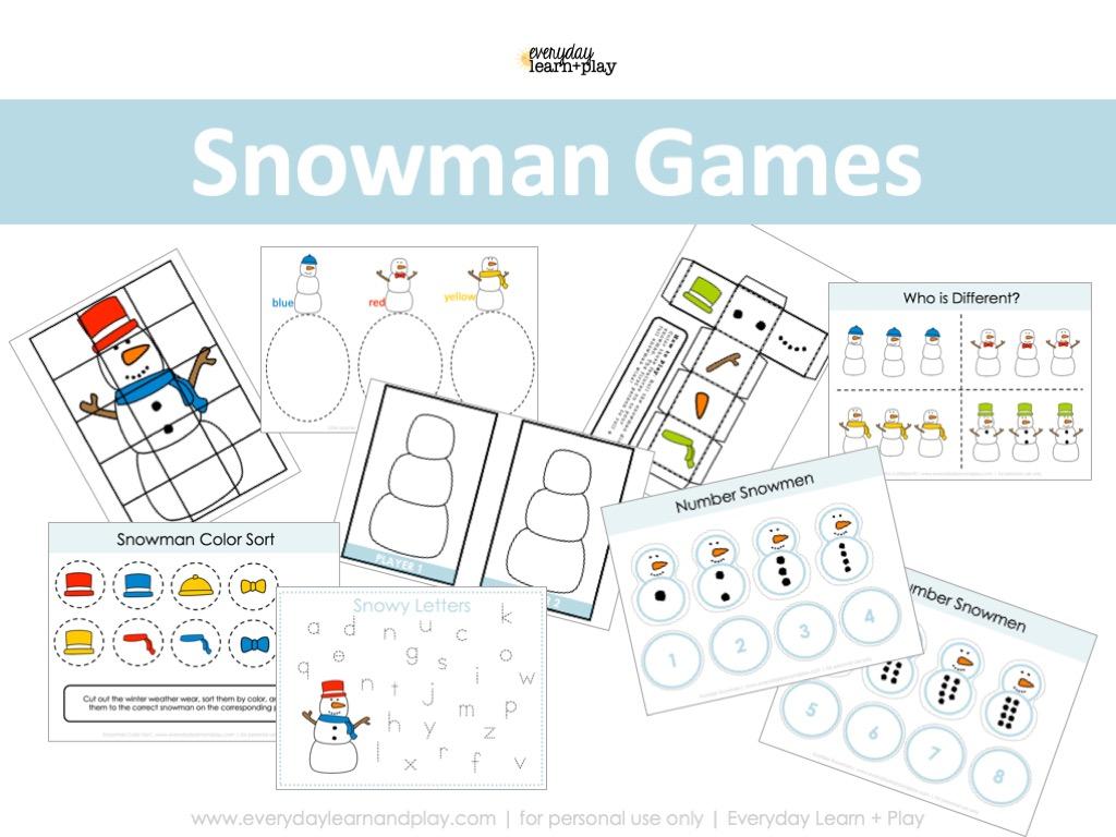 Snowman Games Cover