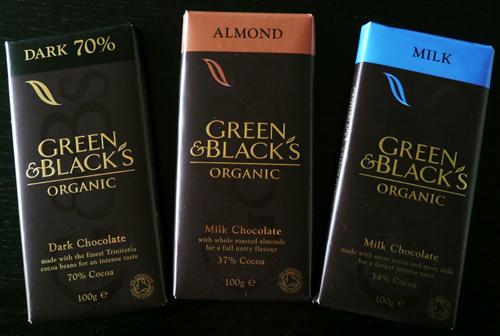 Green & Black's chocolate