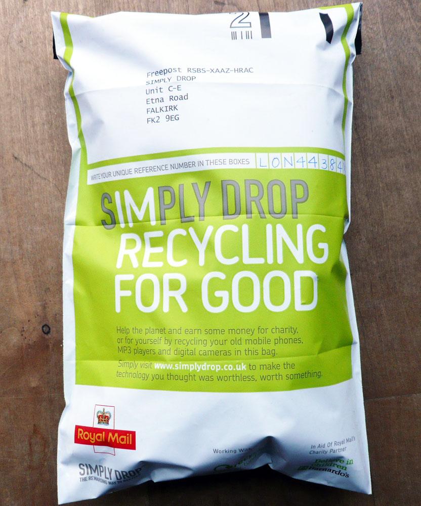 Simply Drop envelop