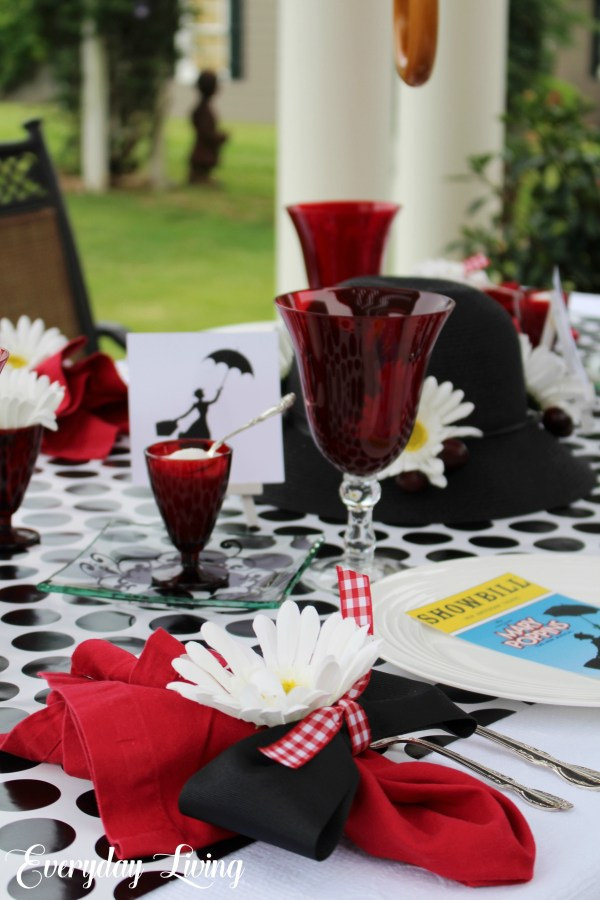 Broadway Tablescape Blog Hop Mary Poppins