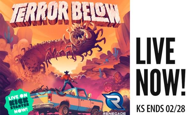 Terror Below Live Now!