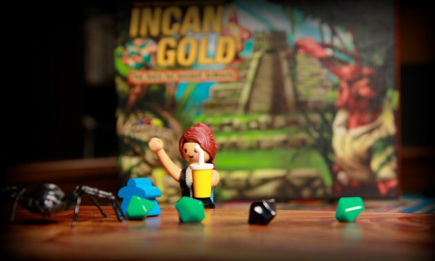 Incan Gold – Pressed Luck