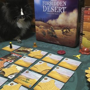 Forbidden Desert - House Cat Expansion