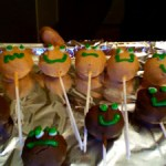 funny cake ball heads
