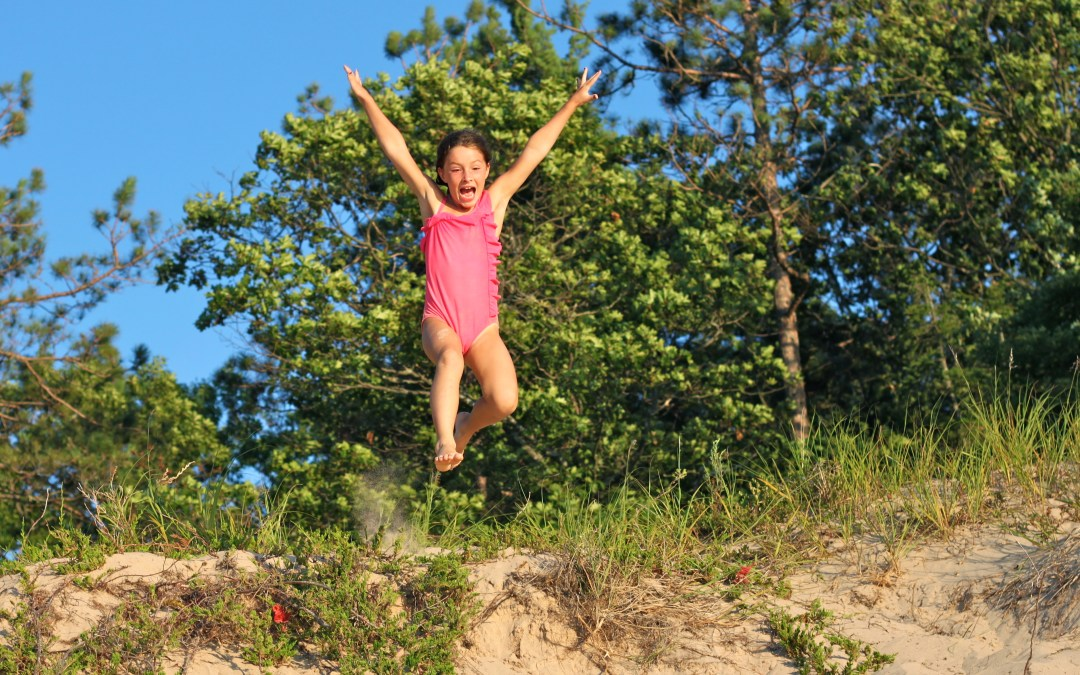 Our Michigan adventure: Dune jumping